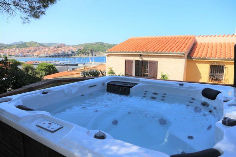 Belle maison vue sur mer banyuls