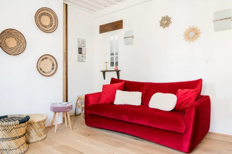 airbnb Trouville-sur-Mer / Appartement de charme avec balcon en plein cœur de Trouville