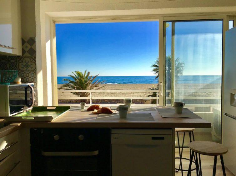 ❤️Vacances vue mer❤️ - Airbnb Canet-en-Roussillon