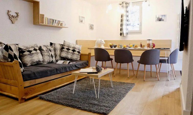 Appartement l'Ourson / 60 m2 / 50 m des pistes