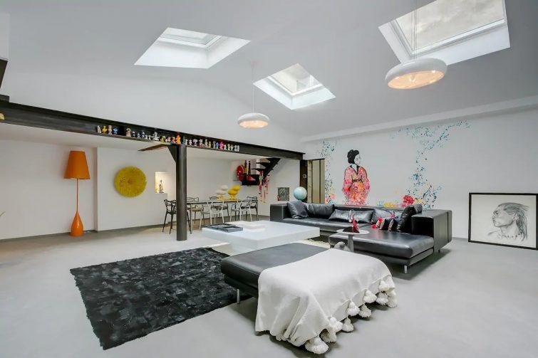 Appartement loft 200m2 calme et confort