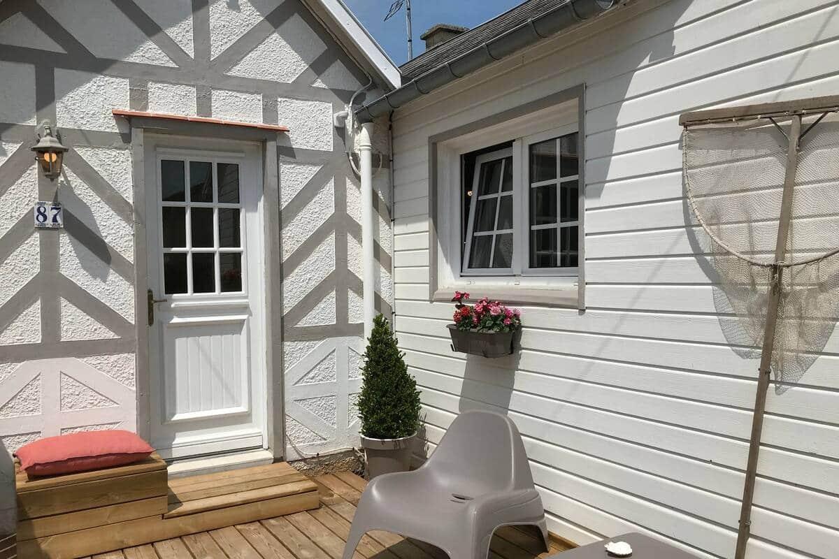 Chalet Marguerite, ancienne maison de pêcheur 3*** - Airbnb Ouistreham