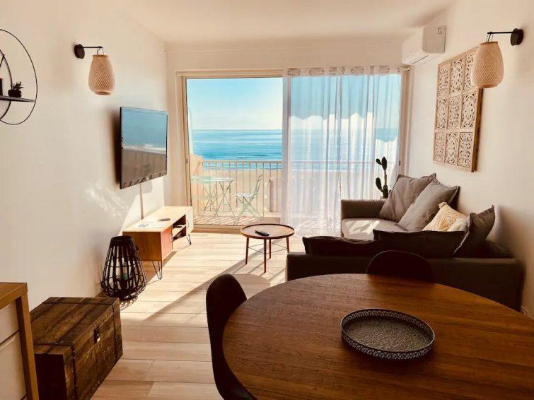 ⭐️❤️⭐️Séjour détente avec vue sur la mer... - Airbnb Canet-en-Roussillon