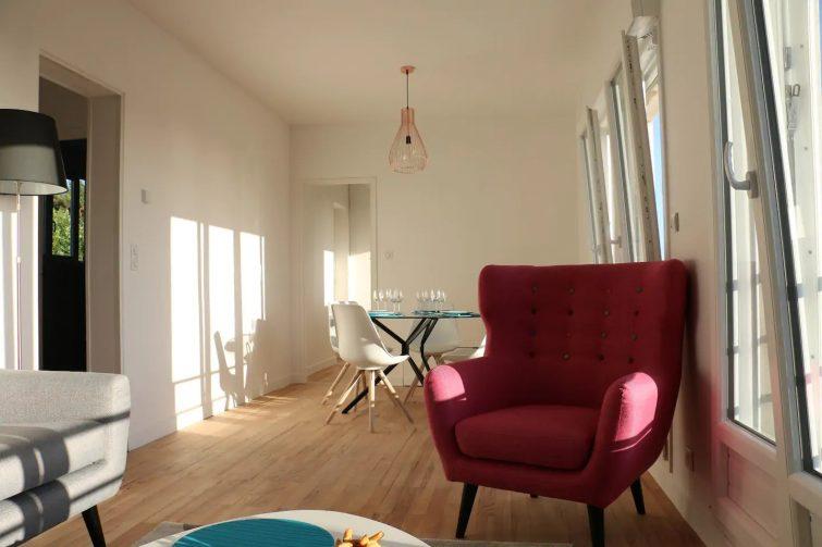airbnb Trouville-sur-Mer / Bel appartement et vue imprenable!!