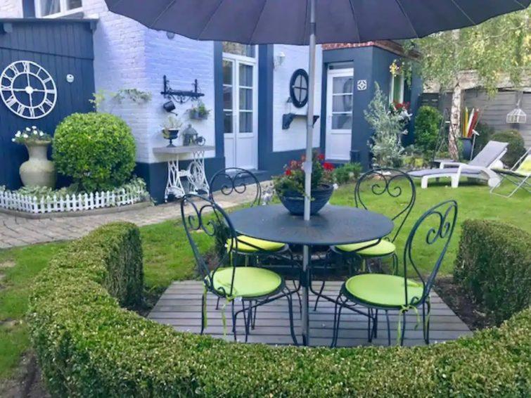Appartement avec jardin en centre ville