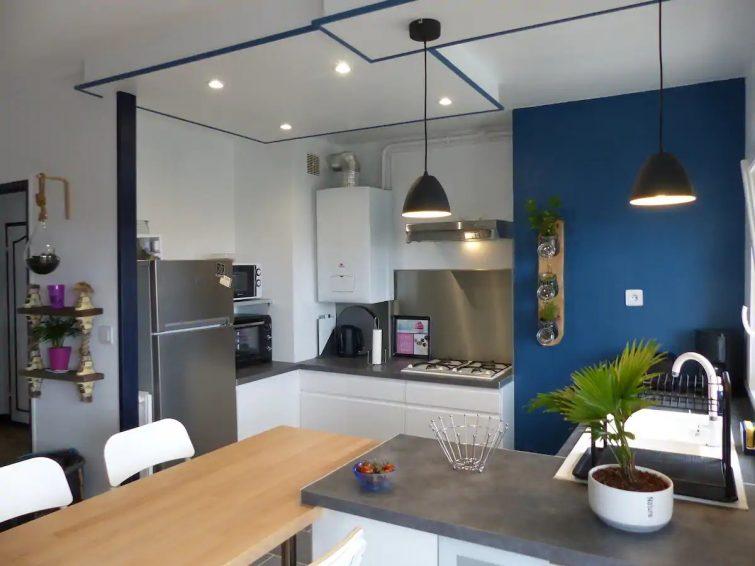 Appartement 41 m2 avec jolie vue sur le Port Rhu