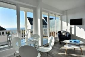 Face à la Mer Terrasse - T Beau Studio refait Neuf