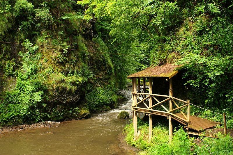 Gorges de la Jordanne - canyoning en Auvergne