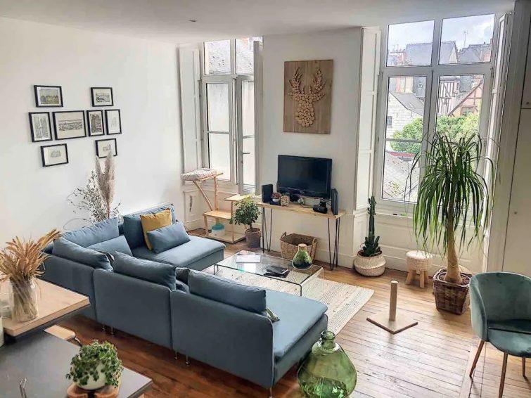 Place Plumereau, charmant appartement de 60m2