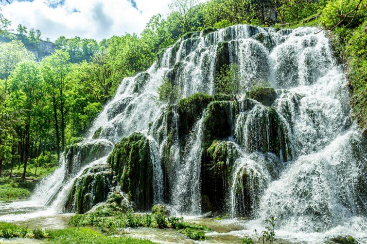 visiter Haute-Loire - Cascade de la Beaume