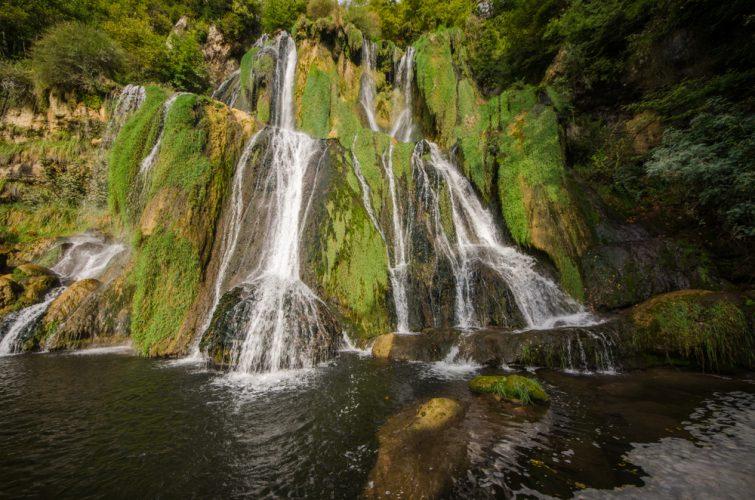 visiter Ain - Cascade du Glandieu