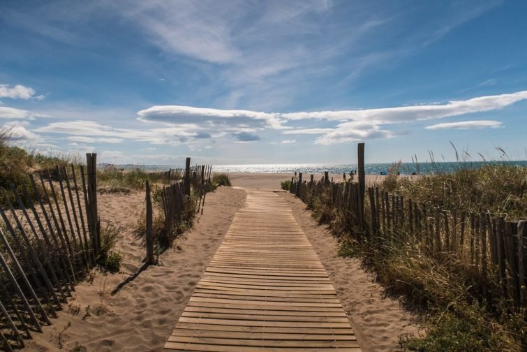 Chemin plage Sérignan