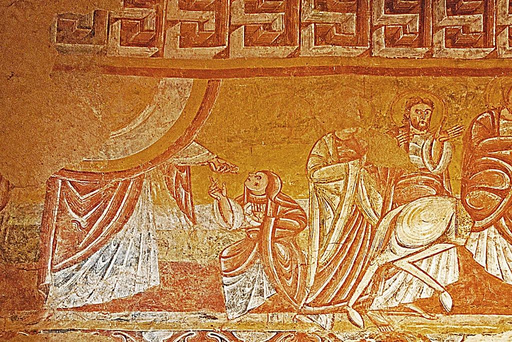 Fresque Saint Martin de Vic
