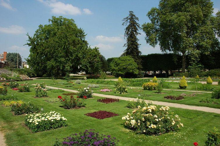 visiter Orléans - Jardin des plantes Orléans