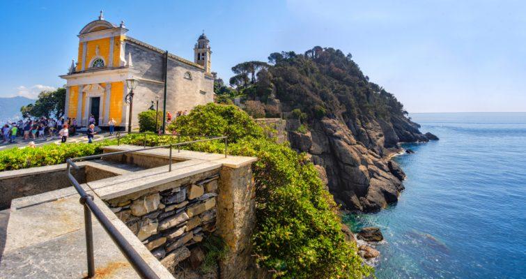 L'église San Giorgio à Portofino