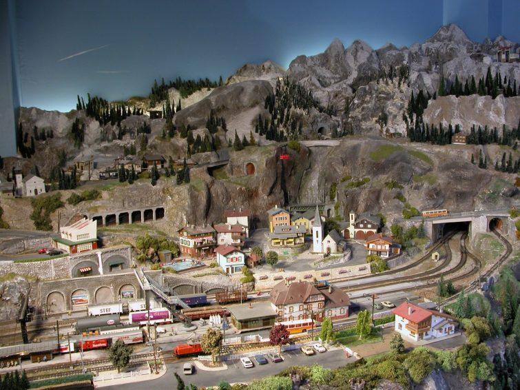 visiter Ain - Musée du train miniature
