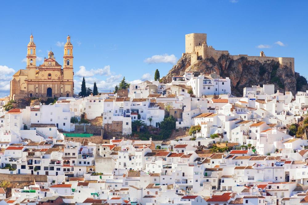 Villages d'Andalousie : Olvera