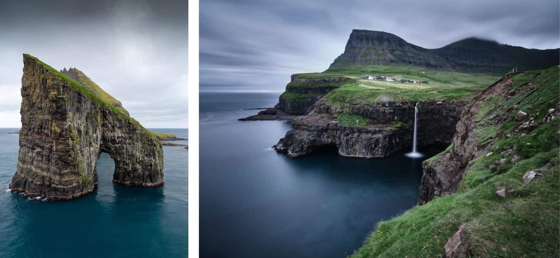 Iles-Féroé - Islande, Vikings