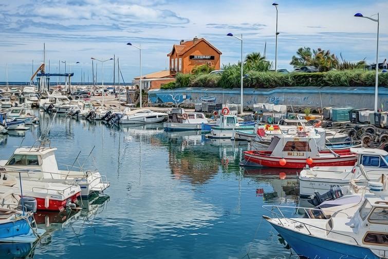 Louer bateau Sausset-les-Pins - Vue latérale Port Sausset