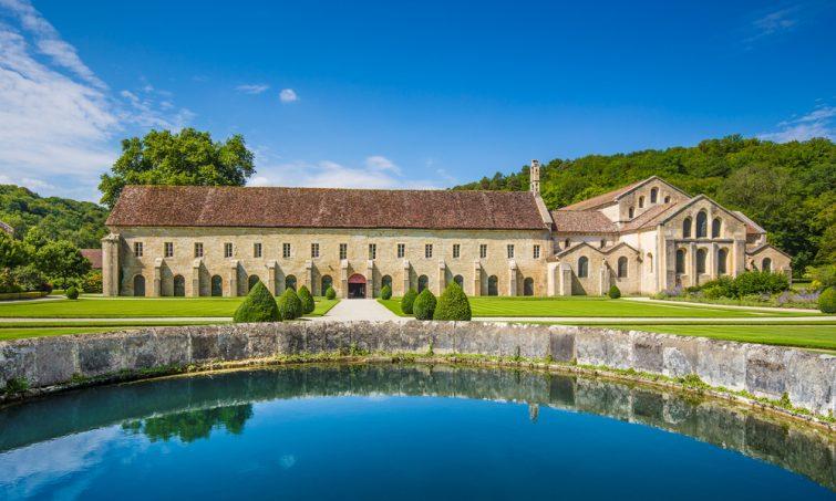 Abbaye de Fontenay, classée au patrimoine mondial de l'Unesco