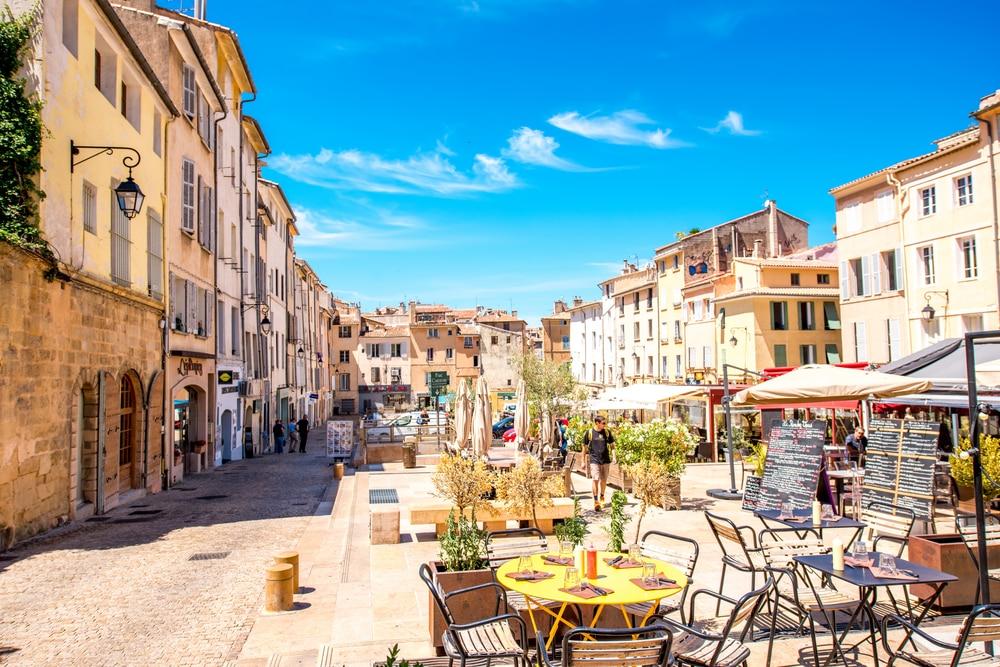 Centre ville d'Aix-en-Provence