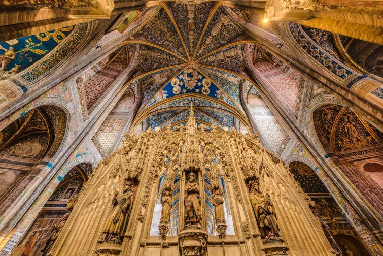 L'intérieur de la cathédrale albigeoise