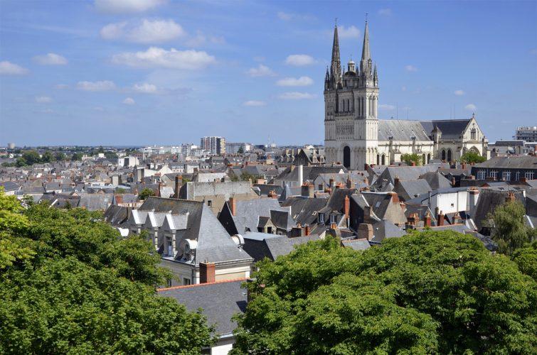 Visiter le centre d'Angers