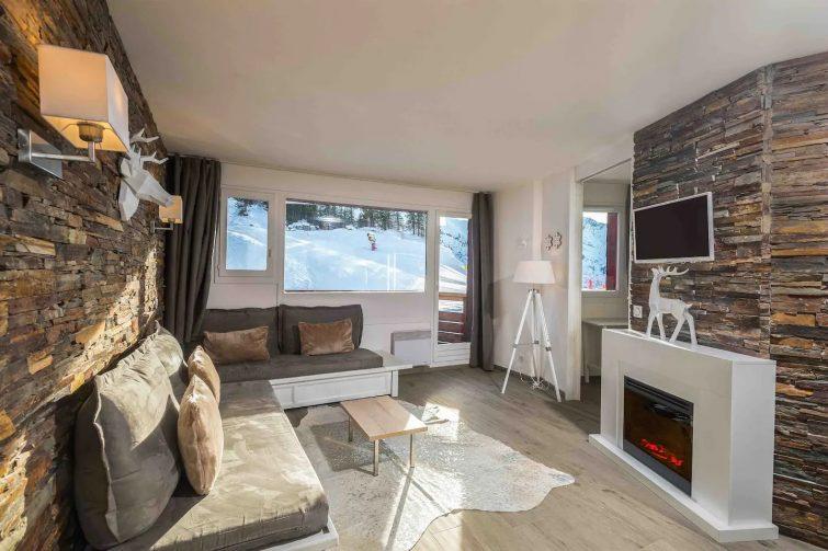 Superbe appartement avec vue au pied des pistes