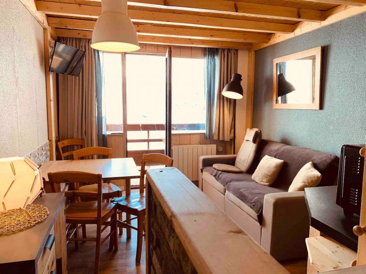 Appartement au pied des pistes avec balcon