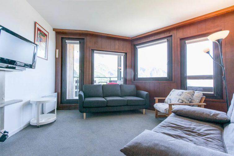 Appartement 2 pièces avec vue imprenable sur la vallée