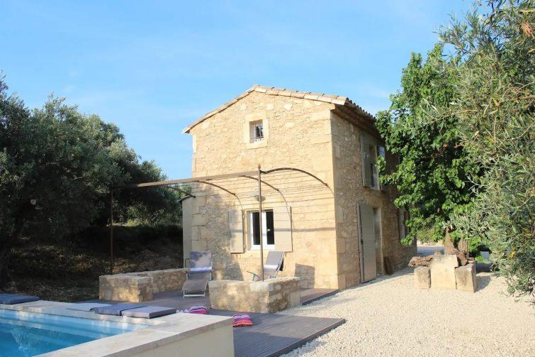 Airbnb Baux-de-Provence : Le mazet au sein des Alpilles