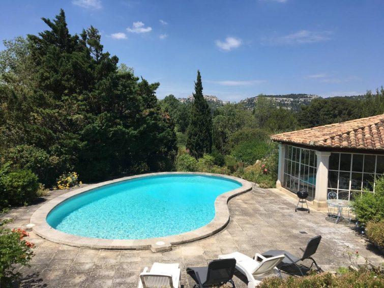 Airbnb Baux-de-Provence : Mas avec vue sur le château