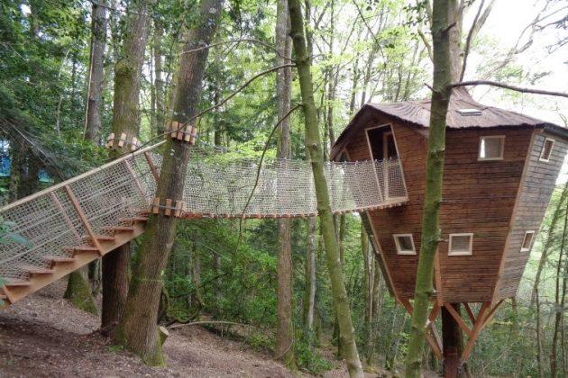 Les 9 plus belles cabanes dans les arbres en Bretagne