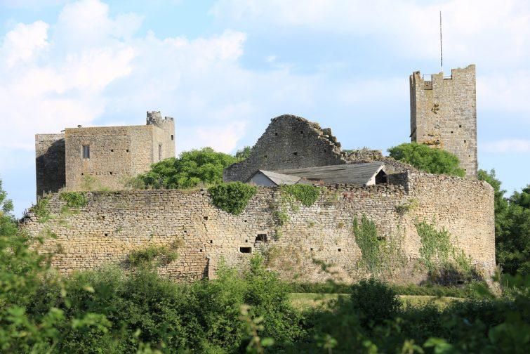 Visiter le parc naturel régional du Morvan : Visiter la Côte d'Or : château de Thil