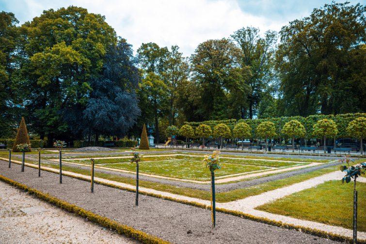 Jardin de l'Archevêché, Bourges