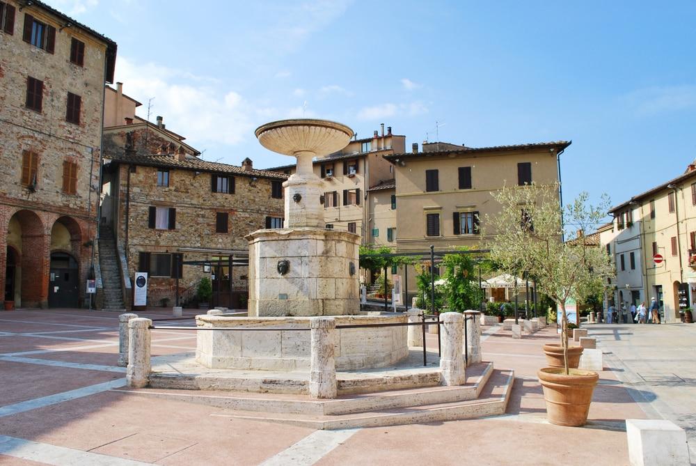 Fontaine principale de Castelnuovo Berardenga