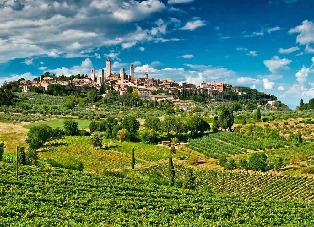 Panorama de San Gimignano