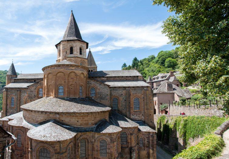 Abbaye à visiter à Conques