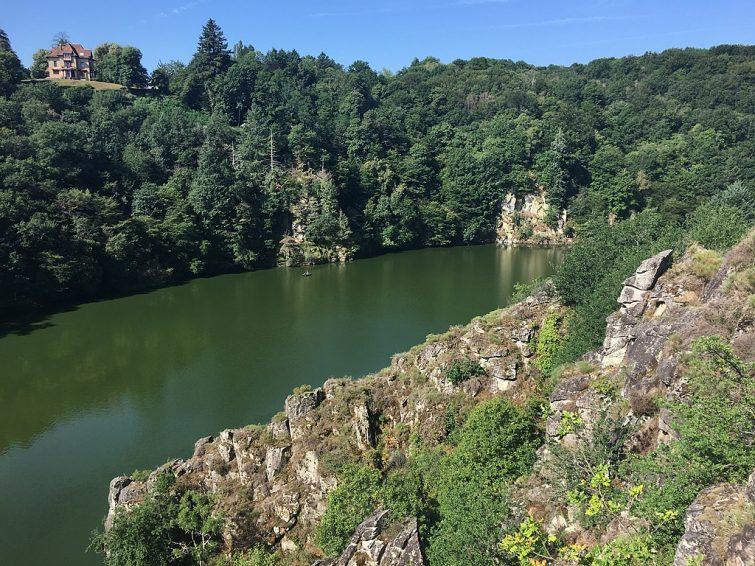 """La vallée de la Creuse ou """"vallée des peintres"""""""