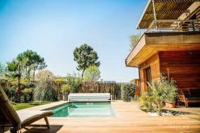 """""""ERIKA"""" Maison bois avec piscine chauffée"""