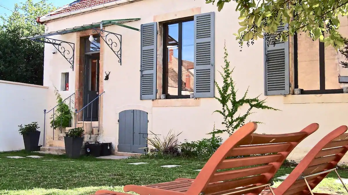 GinkoSuiteBeaune MaisonJardin Privé❤️Poêle à bois