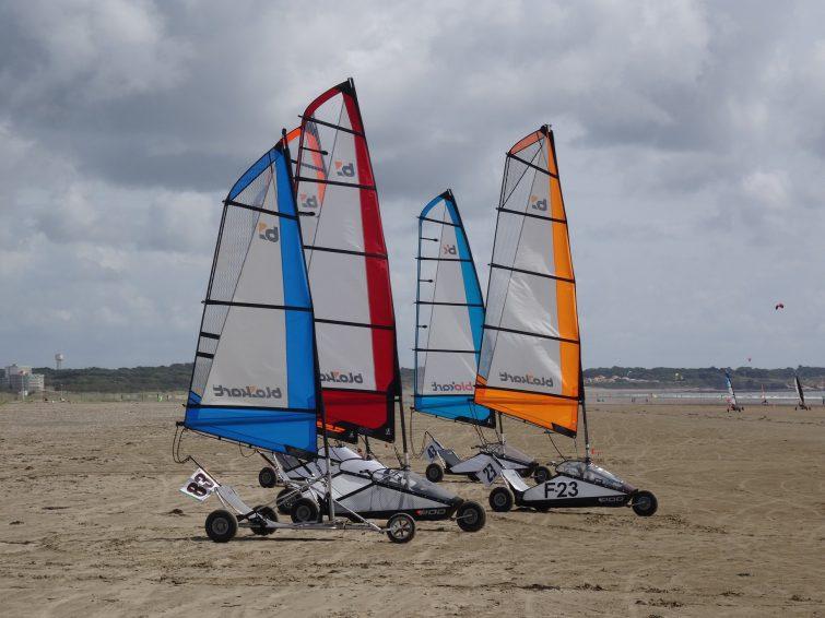 Visiter la Loire-Atlantique : faire du char à voile