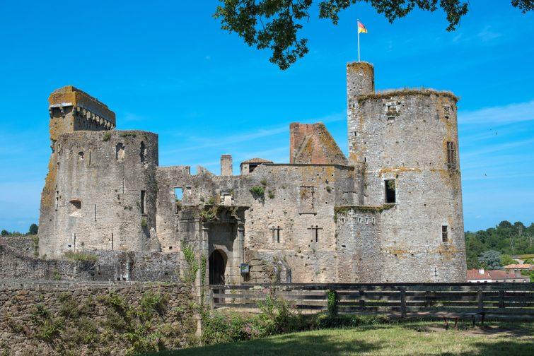 Visiter la Loire-Atlantique : Château de Clisson