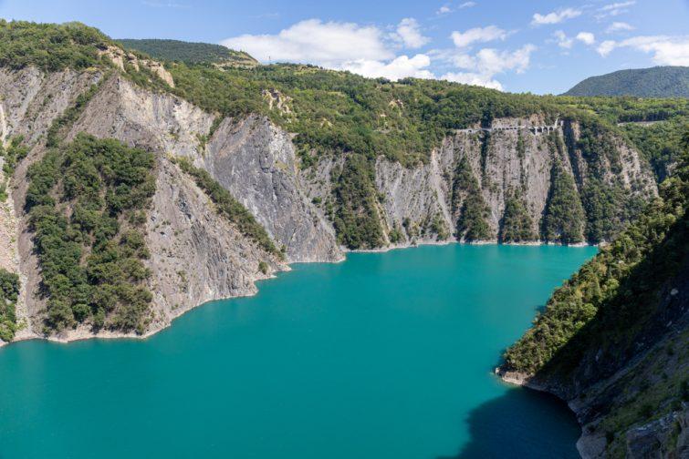 Le lac de Monteynard-Avignonet