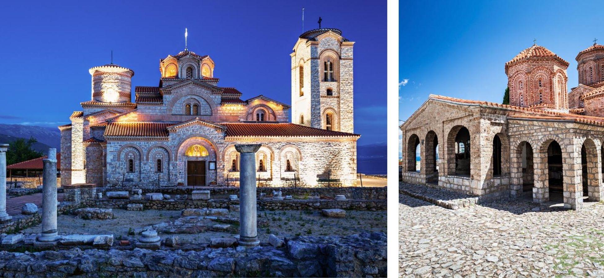 Les monastères d'Ohrid