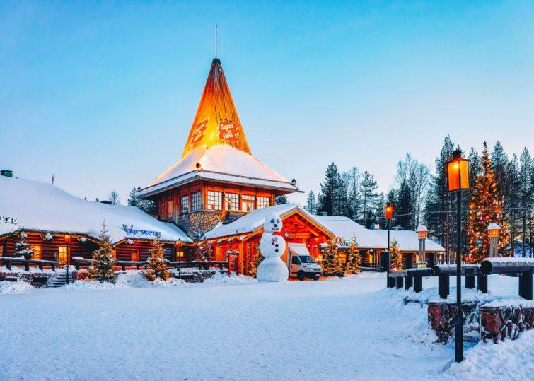 Vacances de Noël à Rovaniemi