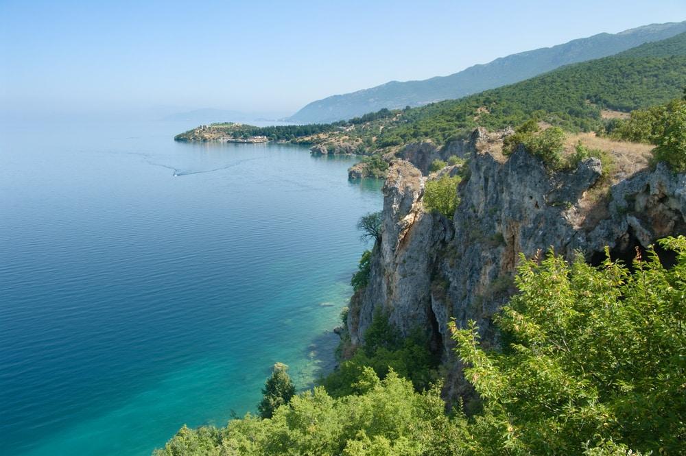 Le lac d'Ohrid