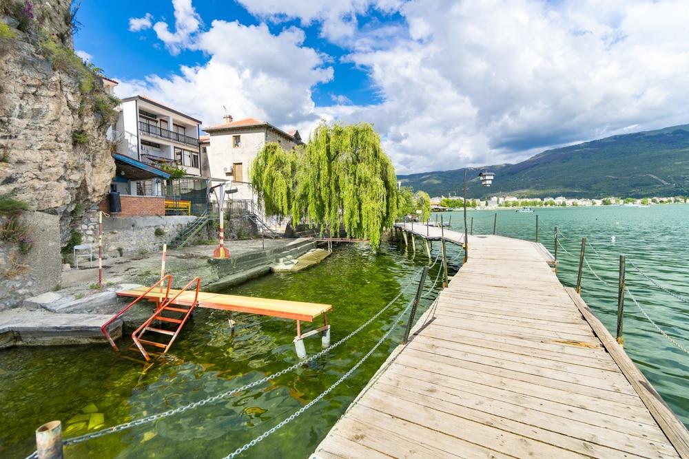 Faire le tour du lac d'Ohrid