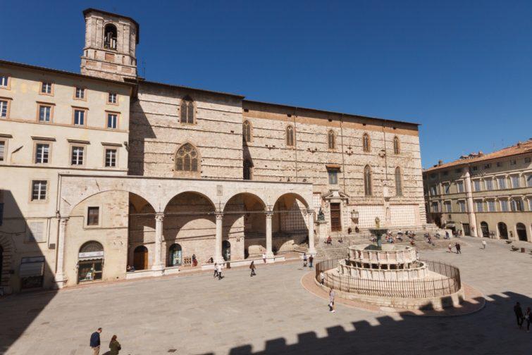 Visiter Pérouse et la Cathédrale San Lorenzo