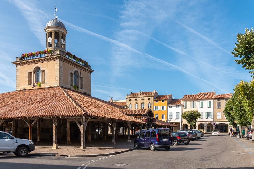 Village de Revel en Haute Garonne